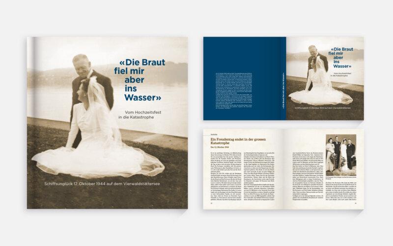 Buch «Die Braut fiel mir aber ins Wasser»